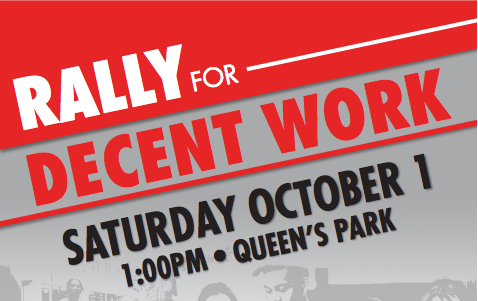 Rally for Decent Work